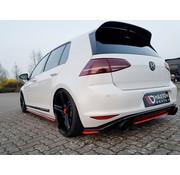 Maxton Design Maxton Design REAR SIDE SPLITTERS VW GOLF 7 GTI CLUBSPORT