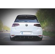 Maxton Design Maxton Design REAR DIFFUSER VW GOLF 7 GTI CLUBSPORT