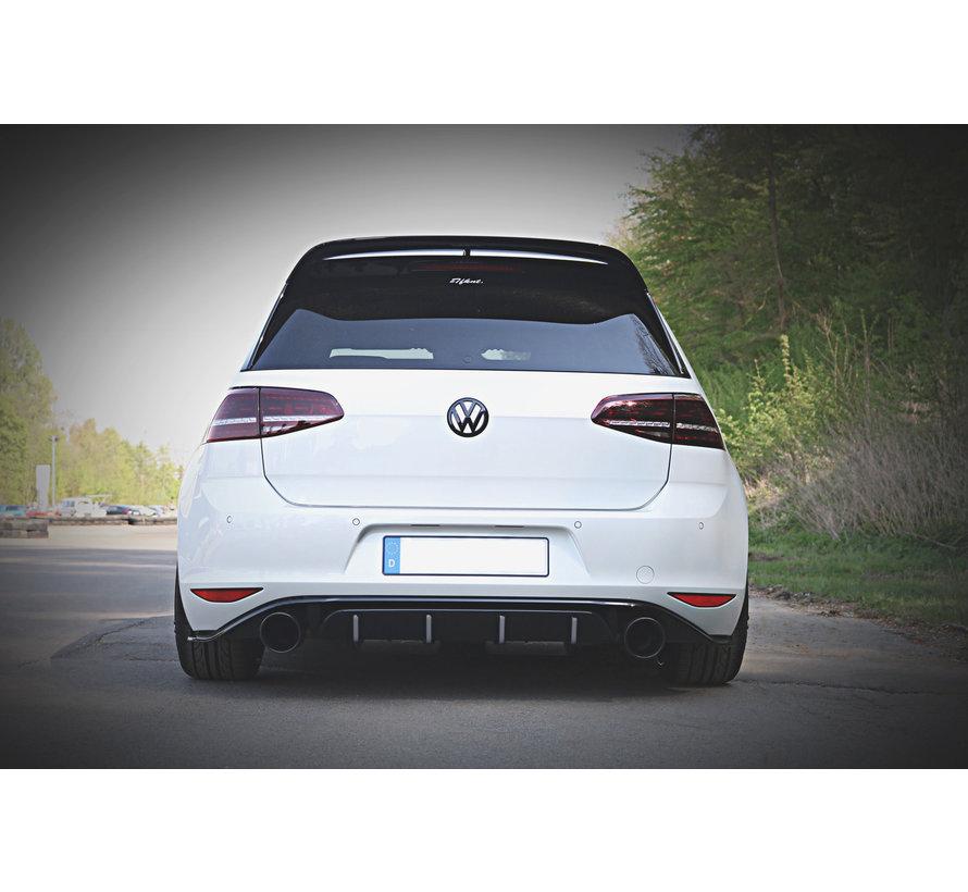 Maxton Design REAR DIFFUSER VW GOLF 7 GTI CLUBSPORT