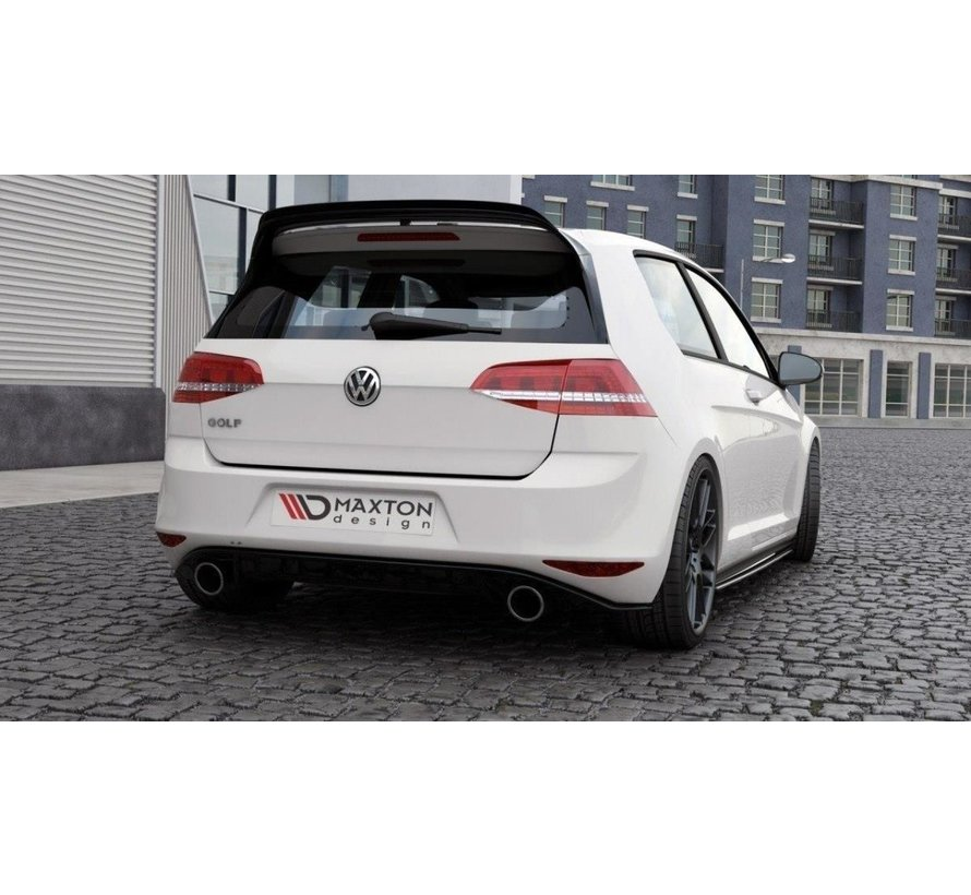 Maxton Design SPOILER CAP VW GOLF 7 GTI CLUBSPORT