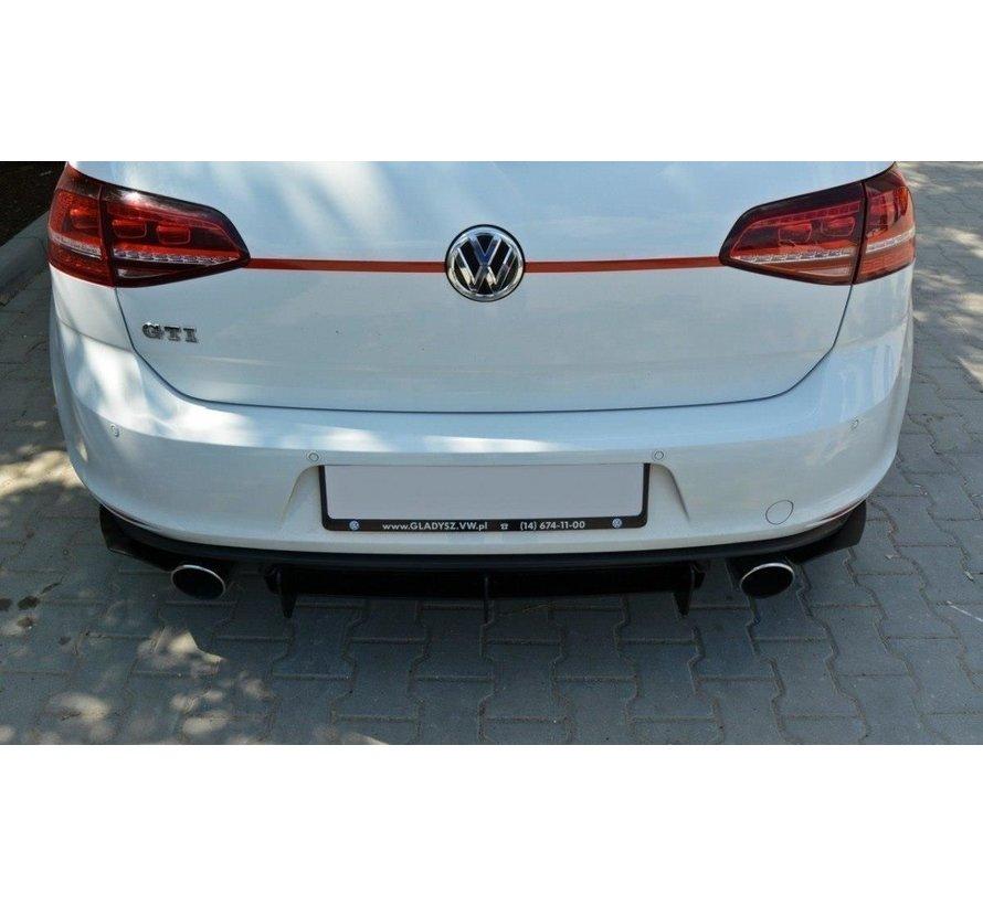 Maxton Design VW GOLF 7 GTI REAR DIFFUSER & REAR SIDE SPLITTERS