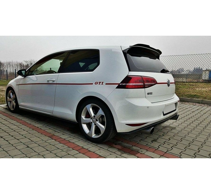 Maxton Design SPOILER EXTENSION VW GOLF 7 R/ GTI