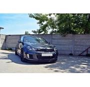 Maxton Design Maxton Design FRONT SPLITTER VER.2 VW GOLF 6 GTI