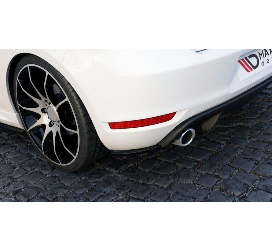 Maxton Design REAR SIDE SPLITTERS VW GOLF 6 GTI 35TH