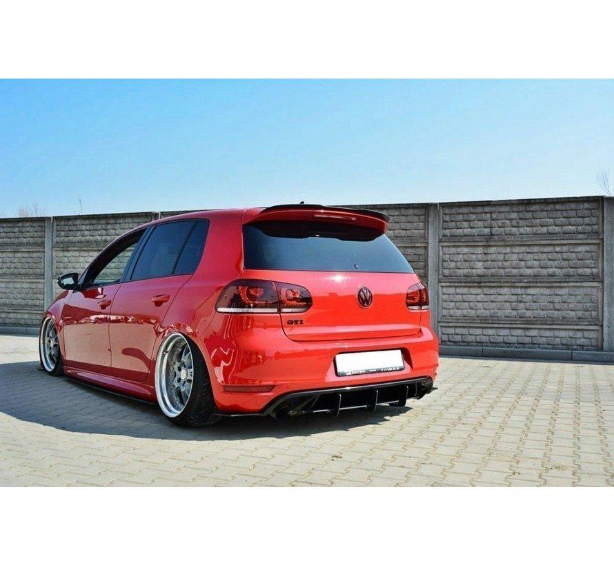 Maxton Design VW GOLF 6 GTI / 35TH REAR VALANCE & REAR SIDE SPLITTERS