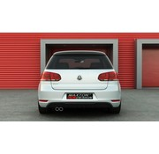 Maxton Design Maxton Design REAR DIFFUSER VW GOLF 6 GTI - 1 EXHAUST (nog spuiten)