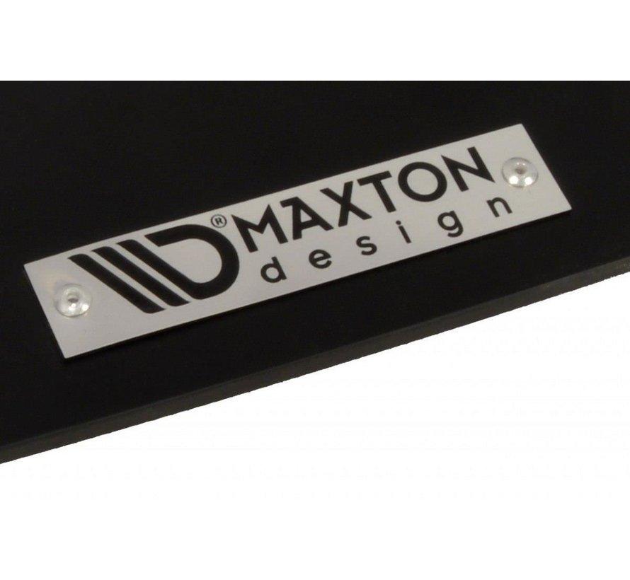 Maxton Design FRONT RACING SPLITTER VW GOLF 5 GTI 30TH