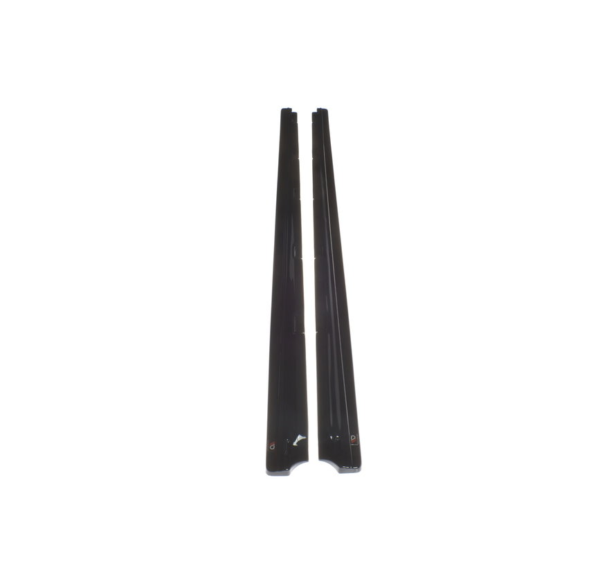 Maxton Design SIDE SKIRTS DIFFUSERS VW GOLF 7 FACELIFT STANDARD
