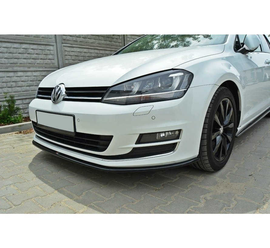 Maxton Design FRONT SPLITTER VW GOLF 7