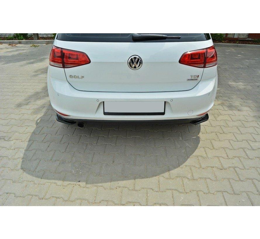 Maxton Design REAR SIDE SPLITTERS VW GOLF 7 STANDARD