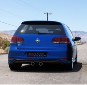 Maxton Design Maxton Design REAR DIFFUSER VW GOLF V R32 LOOK FOR VW GOLF 6 GTI
