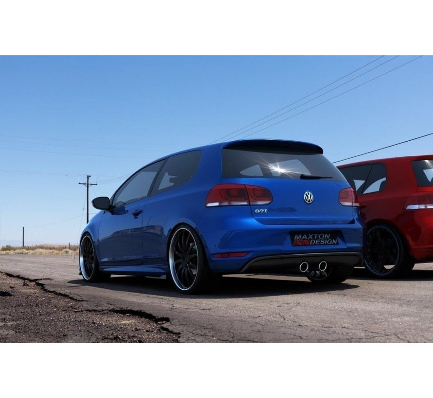 Maxton Design REAR DIFFUSER VW GOLF V R32 LOOK FOR VW GOLF 6 GTI