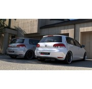 Maxton Design Maxton Design REAR DIFFUSER VW GOLF 6 WITH 2 EXHAUST HOLE