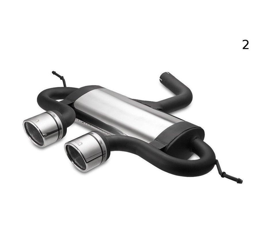 Maxton Design VOLKSWAGEN GOLF 6, GOLF 5 R32, SCIROCCO 3 SPORTS EXHAUST MUFFLER EXHAUST