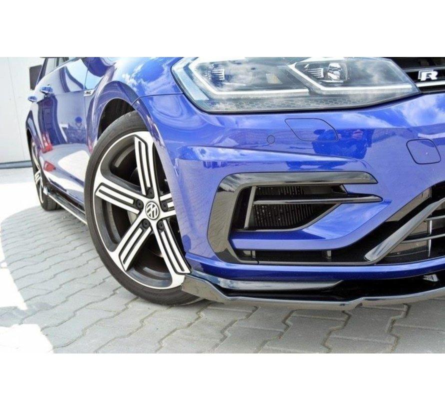 Maxton Design FRONT SPLITTER V.1 VW GOLF 7 R (FACELIFT)