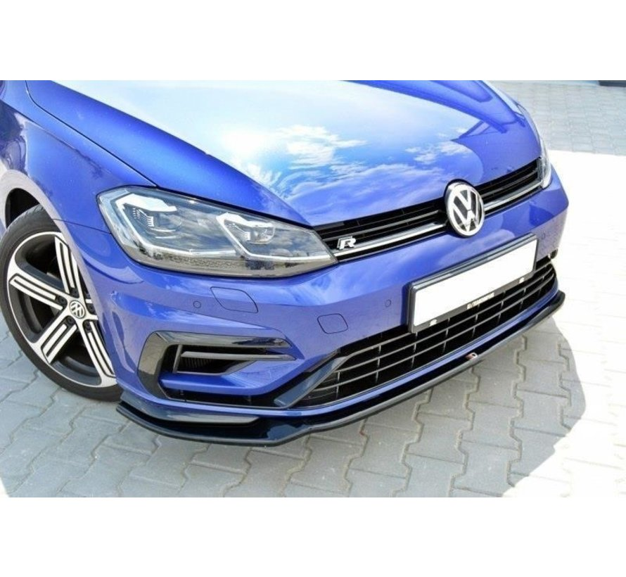 Maxton Design FRONT SPLITTER V.3 VW GOLF 7 R (FACELIFT)