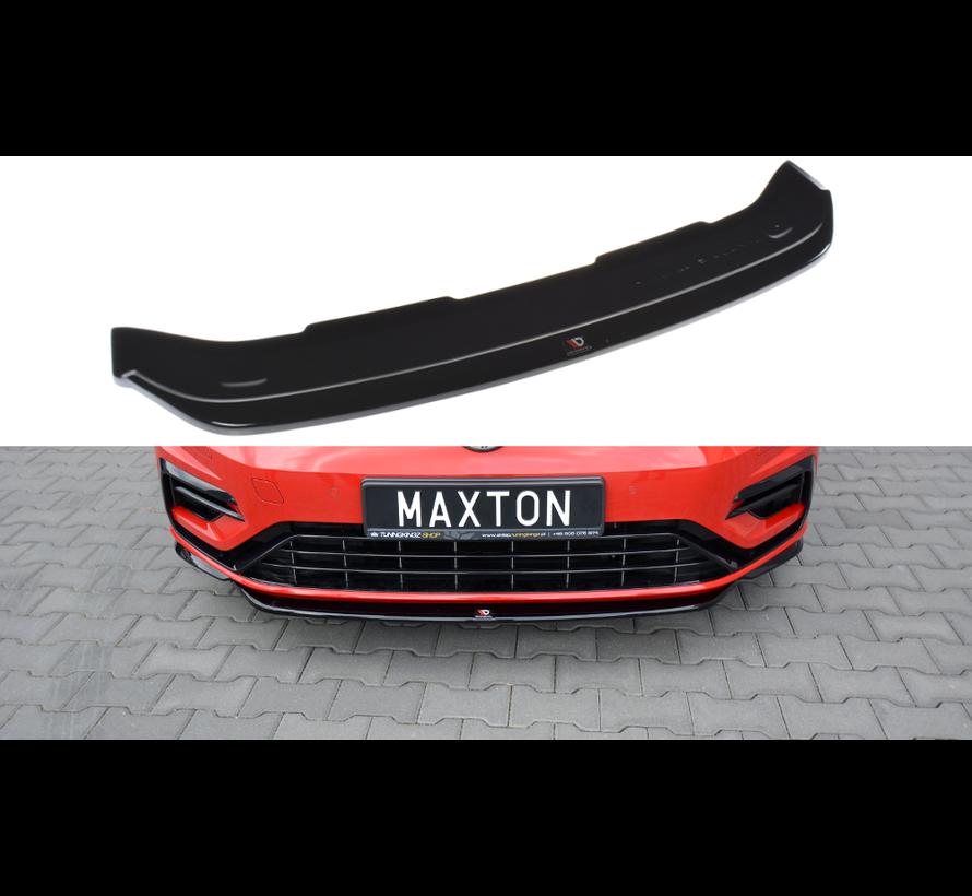 Maxton Design FRONT SPLITTER V.5 VW GOLF 7 R FACELIFT