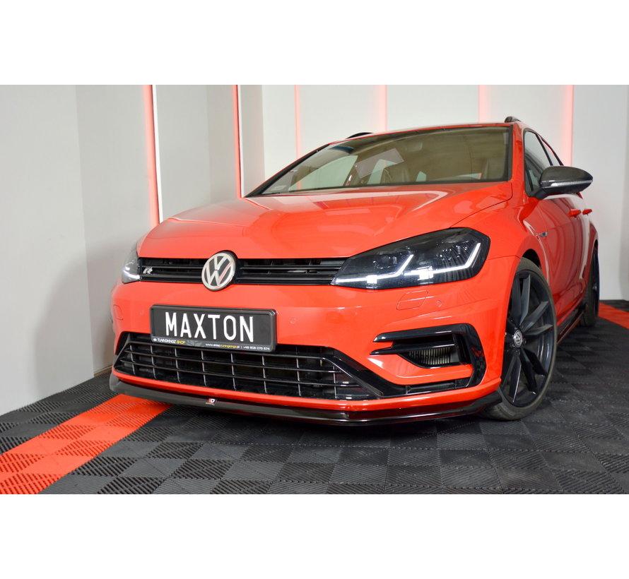 Maxton Design FRONT SPLITTER V.6 VW GOLF 7 R FACELIFT