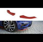 Maxton Design Maxton Design FRONT SPLITTER V.8 VW GOLF 7 R FACELIFT