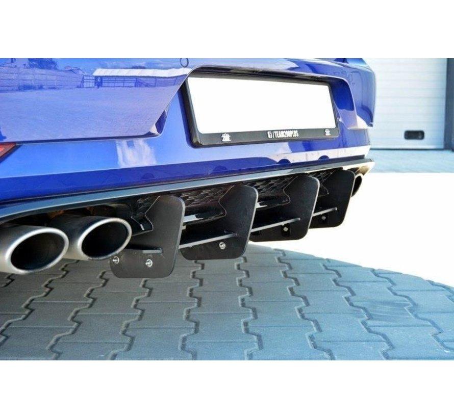 Maxton Design REAR DIFFUSER VW GOLF 7 R (FACELIFT)