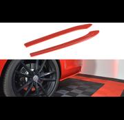 Maxton Design Maxton Design REAR SIDE SPLITTERS V.2 VW GOLF 7 R VARIANT FACELIFT