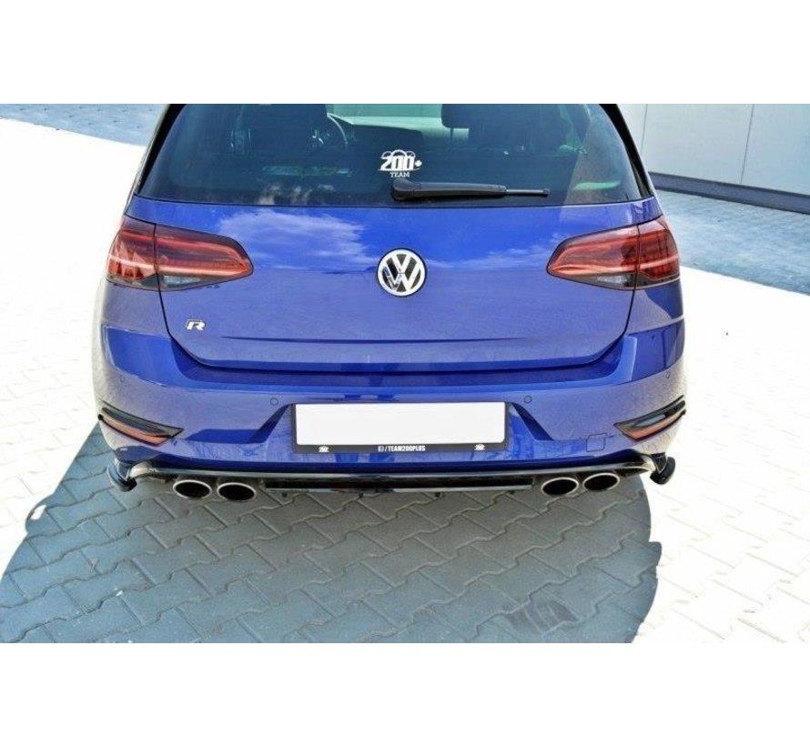 Maxton Design REAR SIDE SPLITTERS VW GOLF 7 R (FACELIFT)