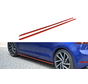 Maxton Design SIDE SKIRTS DIFFUSERS VW GOLF 7 R (FACELIFT)