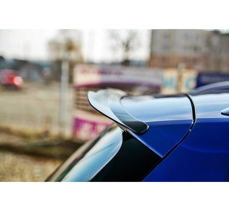 Maxton Design SPOILER EXTENSION VW GOLF 7 R STATION