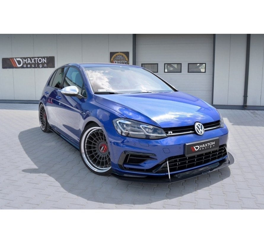 Maxton Design VW GOLF 7 R (FACELIFT) - HYBRID FRONT RACING SPLITTER