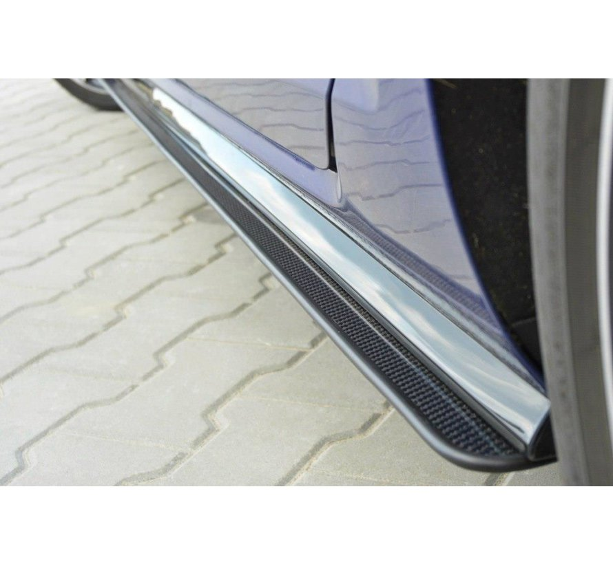 Maxton Design VW GOLF 7 R (FACELIFT) - RACING SIDE SKIRTS DIFFUSERS