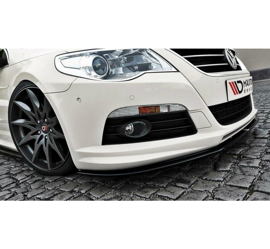Maxton Design FRONT SPLITTER VW PASSAT CC R36 RLINE (PREFACE)