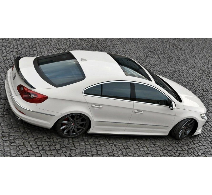 Maxton Design SIDE SKIRTS DIFFUSERS VW PASSAT CC R36 RLINE (PREFACE)