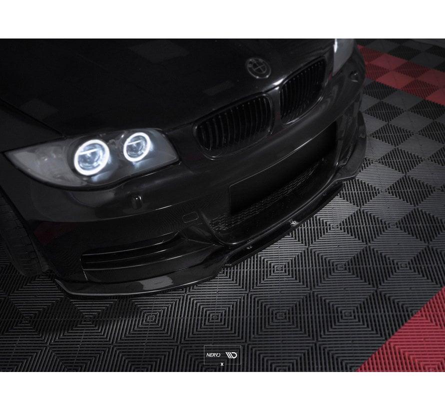 Maxont Design FRONT SPLITTER V.1 BMW 1 E82 FACELIFT M-PACK