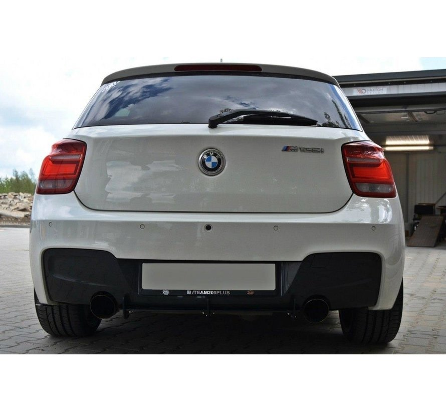 Maxton Design BMW 1 F20/F21 M-POWER REAR DIFFUSER & REAR SIDE SPLITTERS (PREFACE)