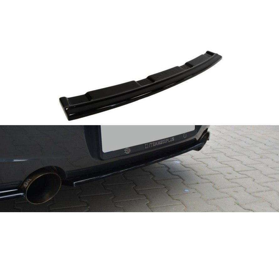 Maxton Design CENTRAL REAR SPLITTER BMW 1 F20/F21 M-POWER (WITHOUT VERTICAL BARS)