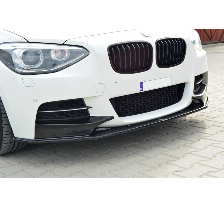 Maxton Design FRONT SPLITTER BMW 1 F20/F21 M-POWER (PREFACE)