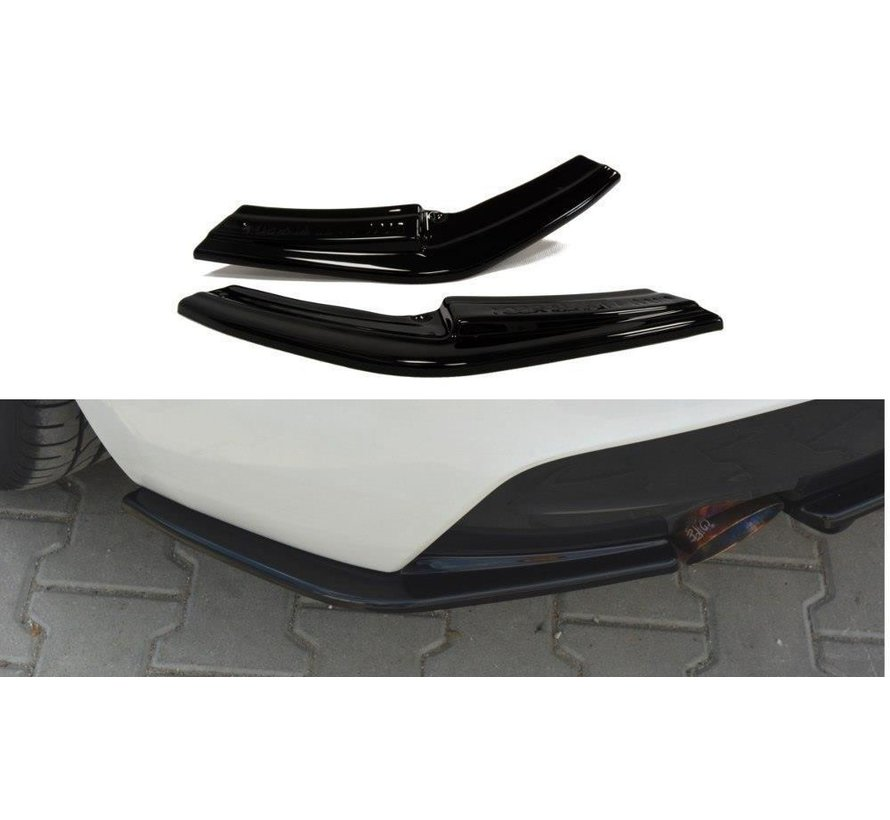 Maxton Design REAR SIDE SPLITTERS BMW 1 F20/F21 M-POWER (PREFACE)