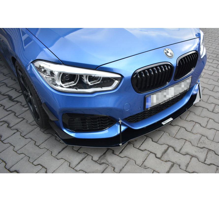 Maxton Design FRONT RACING SPLITTER V.1 BMW 1 F20/F21 M-POWER FACELIFT
