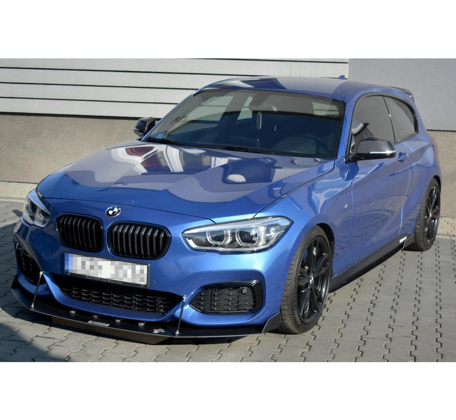 Maxton Design FRONT RACING SPLITTER V.2 BMW 1 F20/F21 M-POWER FACELIFT
