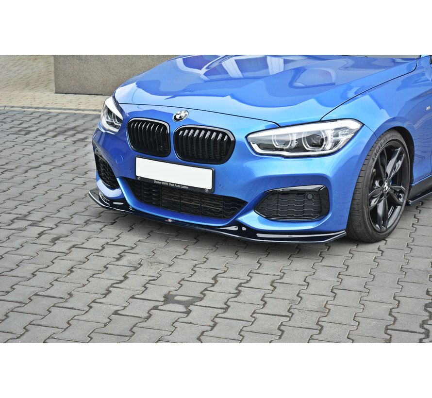 Maxton Design FRONT SPLITTER V.3 BMW 1 F20/F21 M-POWER