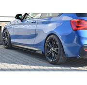 Maxton Design Maxton Design RACING SIDE SKIRTS DIFFUSERS BMW 1 F20/F21 M-POWER FACELIFT