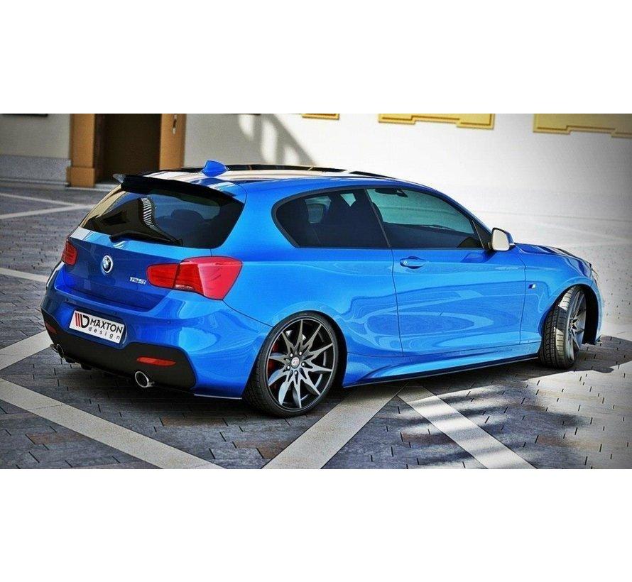 Maxton Design REAR SIDE SPLITTERS BMW 1 F20/F21 M-POWER (FACELIFT)
