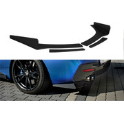 Maxton Design Maxton Design REAR SIDE SPLITTERS BMW 1 F20/F21 M-POWER FACELIFT