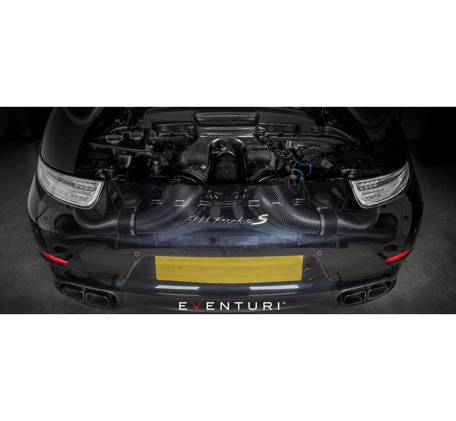 Eventuri airintake Porsche 991 Turbo Black Carbon