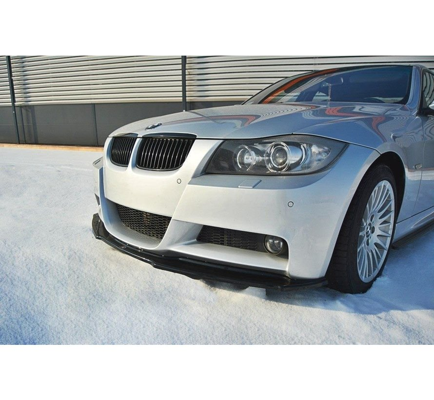Maxton Design FRONT SPLITTER V.1 BMW 3 E90 MPACK