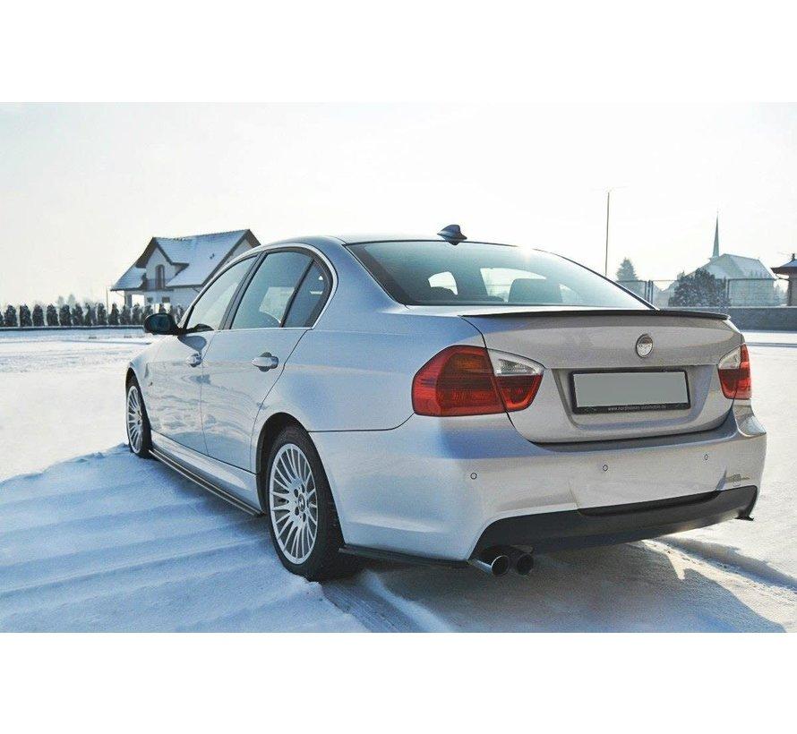Maxton Design REAR SIDE SPLITTERS BMW 3 E90 MPACK