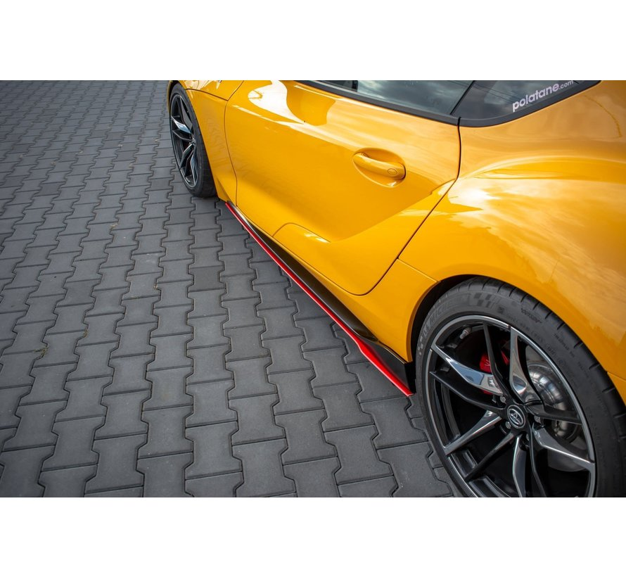 Maxton Design SIDE SKIRTS DIFFUSERS V.2 TOYOTA SUPRA MK5