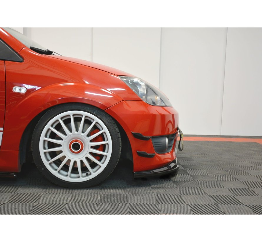 Maxton Design FRONT BUMPER WINGS (CANARDS) FORD FIESTA MK6 ST