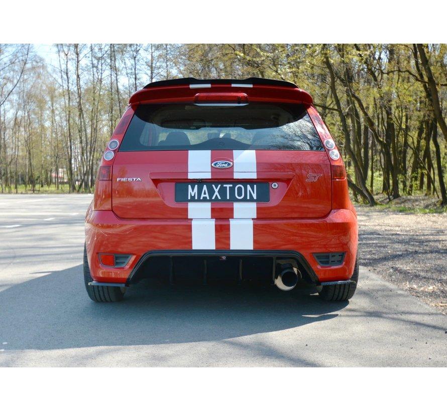 Maxton Design REAR SIDE SPLITTERS FORD FIESTA MK6 ST
