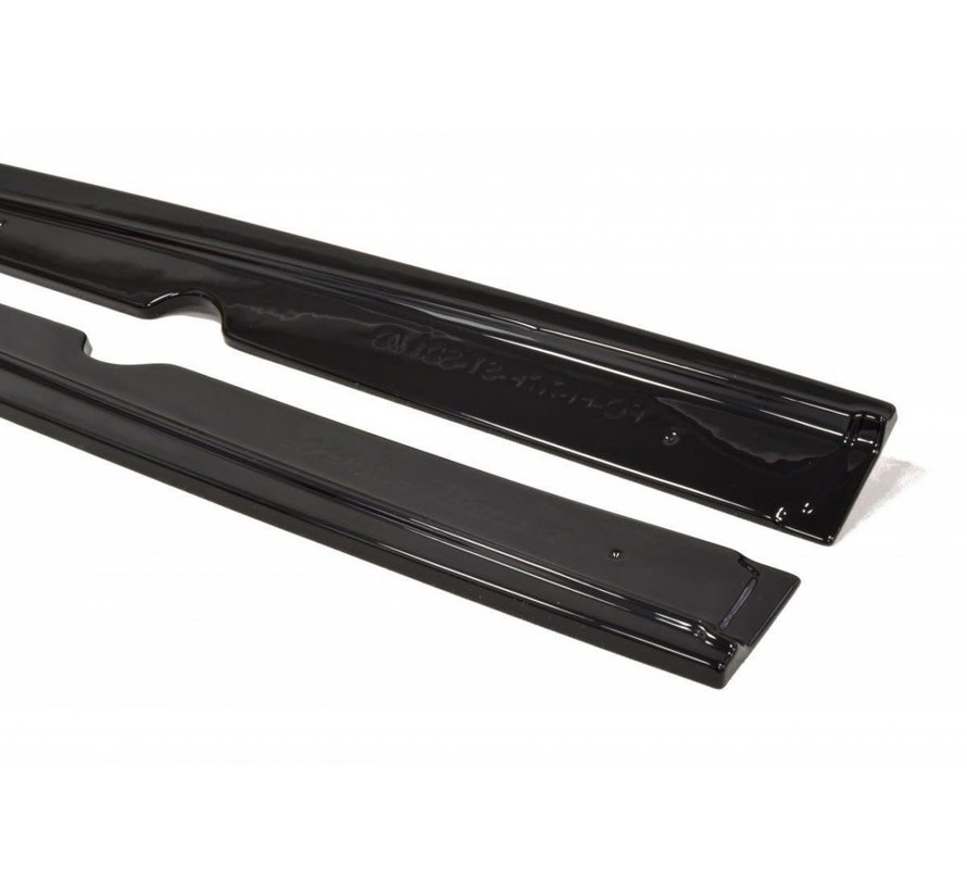 Maxton Design SIDE SKIRTS DIFFUSERS FORD FIESTA MK7 PREFACE ST
